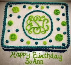 cake monograms monogram birthday cake reha cake