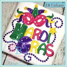 mardi gras embroidery designs mardi gras applique