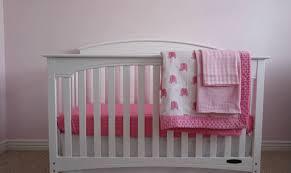 Organic Crib Bedding by Baby Crib Bedding Set For Girls Minky Quilt Double Gauze Organic