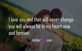 Nature Love Quotes by I Love You And That Will Never Change Love Quotes Author Love