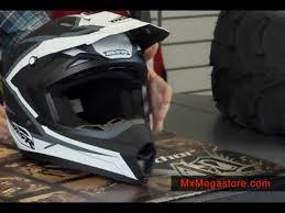 motocross helmet review 2014 msr assault motocross helmet review by mxmegastore youtube