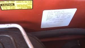 isuzu amigo isuzu amigo questions how can i know what the rear axle ratio is