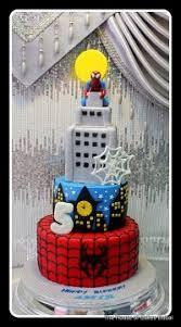spiderman cakes kids birthday cakes dubai