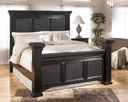 Ike Solid Wood Bedroom Set Black Wooden Bed Frame Solid Wood Wooden Platform Frames Indian