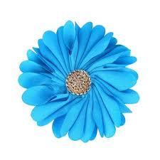 Tiffany Blue Flowers Flower Collar Slider Tiffany Blue A070