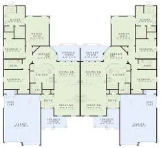 multi family collection house plan 454 cabe court house plan ndg 454 main floor