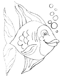 wonderful parrot fish coloring fishing coloring pages