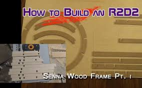 r2d2 wood senna frame part i uprights and middle ring router