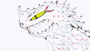 want to draw art of you dragon and viking of dragons