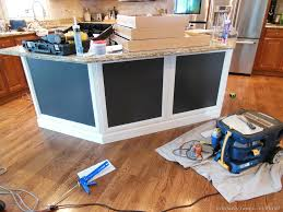 Add Trim To Kitchen Cabinets by Cabinet Adding Trim To Kitchen Island Remodelando La Casa Adding