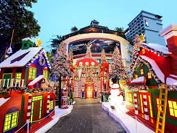 Christmas Trees And Decorations Melbourne by Christmas Lights Singapore Dresses Up Its Malls And Streets For