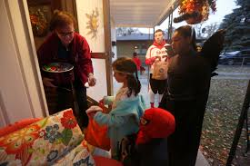 halloween city findlay ohio trick or treat times in ohio and michigan the blade