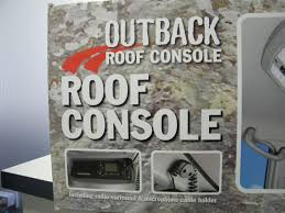 outback accessories roof console 4x4 toyota landcruiser 79 series