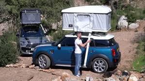 tenda tetto auto mini countryman autohome firma la tenda da tetto auto it