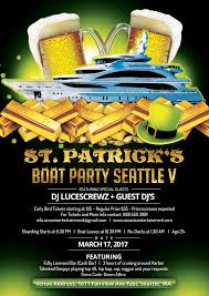halloween boat party sf 2017 st patrick u0027s boat party seattle v by oceanic entertainment on