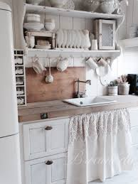 Shabby Chic Kitchen Furniture by If I Had An Old Farmhouse This Is Exactly What I U0027d Do The Curtain