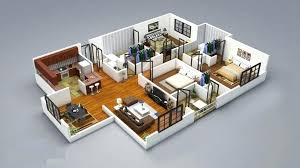 house plans design simple bedroom house plan best plans design six split modern with