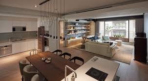 Dark Apartment Interior Design For A Young Family RooHome - Modern apartment interior design