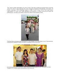 Guam Flag Philippine Consulate General Joins The Filipino Ladies Association