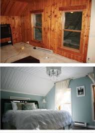 update wood paneling painted wood panelling before and after if we leave the wood