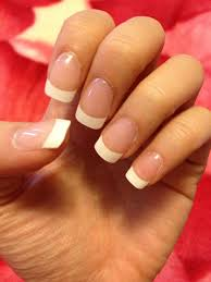 acrylic gel nails with french tips 25 yelp