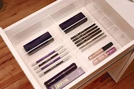 ikea makeup organizer acrylic compact makeup drawer organizer for ikea alex sets insert