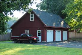 Large Garage Plans Berkshire Saltbox Style 1 Story Garage The Barn Yard U0026 Great