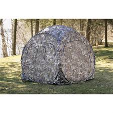 Pop Up Ground Blind Guide Gear Pro Series Pop Up Blind 119481 Ground Blinds At
