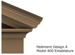Architectural Pediment Design Pediments Entablatures Saf Southern Aluminum Finishing Co