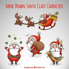 santa clause pictures santa claus vector free