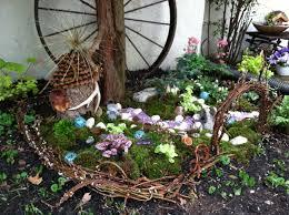 Fairy Garden Ideas by Outdoor Fairy Garden The Gardens