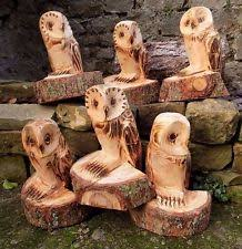 chainsaw carving garden ornaments ebay