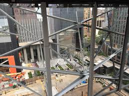 Steel Sled Deck Plans by Hudson Yards U0027 Art Center The Shed Wraps Up Steel Construction On