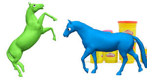 play doh animals surprise toys how to make a horse play doh toy