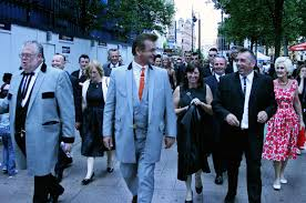 Teddy Boy Drape Greased Quiffs And Switchblades Growing Up Teddy Boy In 1970s