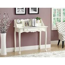 Small White Desk With Drawers by Monarch Desk 36
