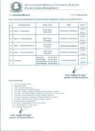 home jinnah sindh medical university