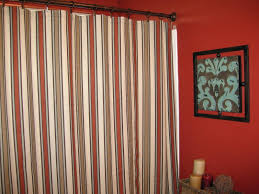 magnetic curtain rod target 3 target red medallion shower curtain