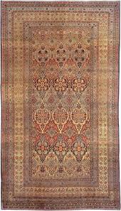 antique all over design khorassan persian carpet rug lot 173