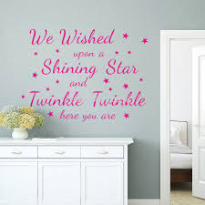 2015 new we wished upon a shining star wall art sticker bedroom 2015 new we wished upon a shining star wall art sticker bedroom children wall stickers kids room decoration in wall stickers from home garden on