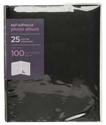self adhesive album whsmith medium black photo album 25 self adhe whsmith
