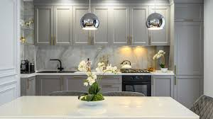 paint your kitchen cabinets blue top ranked kildeer kitchen cabinet painting company prime time