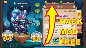 mod apk android idle heroes mod apk v1 11 0 no root ios and android