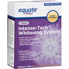 equate beauty 1 hour intense tech whitening system walmart com