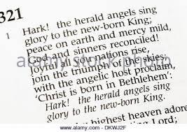 hark the herald angels sing christmas carol the carol first