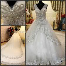 bling wedding dresses discount luxury rhinestone wedding dresses bling bling beaded