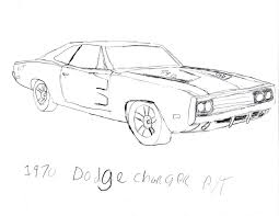 1970 dodge charger r t drawing by jtkirk1701 on deviantart