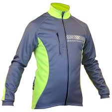 yellow cycling jacket impsport u0027polar u0027 winter cycling jacket grey flo yellow
