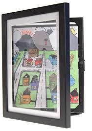 child artwork frame display cabinet frames and