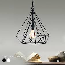 sell home interior wire cage light fixtures details about geometric wire cage pendant